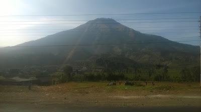 gunung sumbing, foto di daerah kledung - temanggung