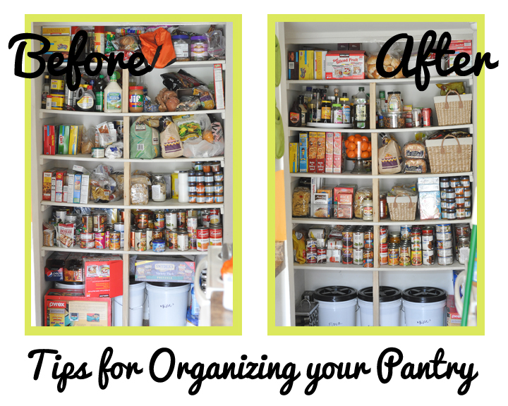 5 Tips For A Gorgeous And Organized Pantry: Decorating Through Dental School: Tips For An Organized Pantry