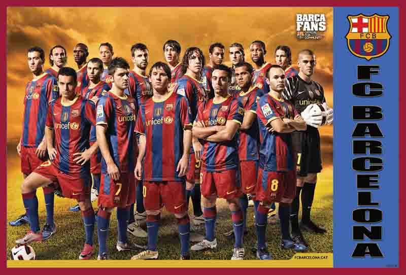 Barcelona 2013 Poster