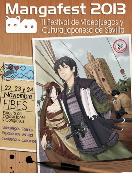 Cartel del Mangafest 2013