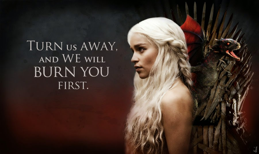 khaleesi quote game of thrones quotes