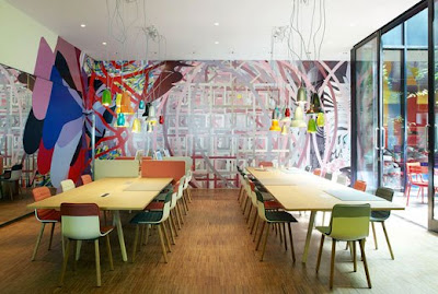 Hôtel design Citizen M Londres
