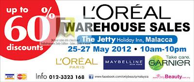 L'Oreal Warehouse Sale 2012