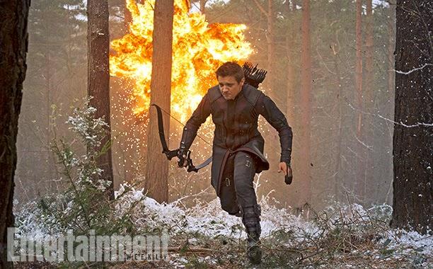 Jeremy Renner es Ojo de Halcon en Los Vengadores: La era de Ultron