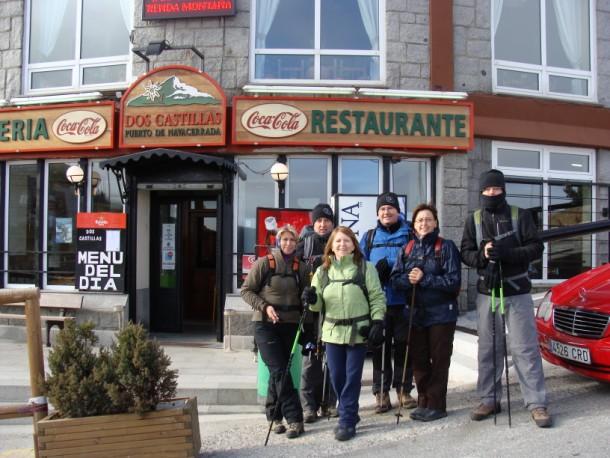 Rutas realizadas navacerrada 7 picos madrid for Restaurante puerto rico madrid