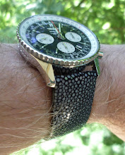 Jean's Breitling Navitimer LE on Polished Stingray