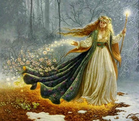 Perséfone, Doncella y reina del mundo subterráneo, mujer receptiva e hija de la madre