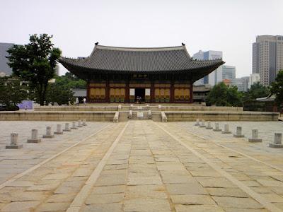 Deoksugung Palace in Seoul South Korea