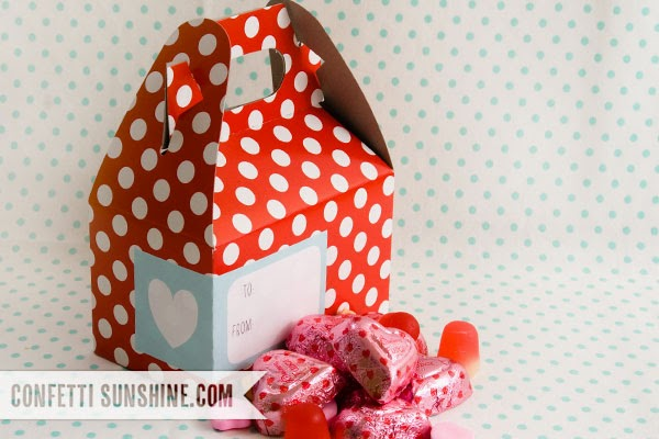 imprimible gratis caja San valentin, Free printable valentines gable box