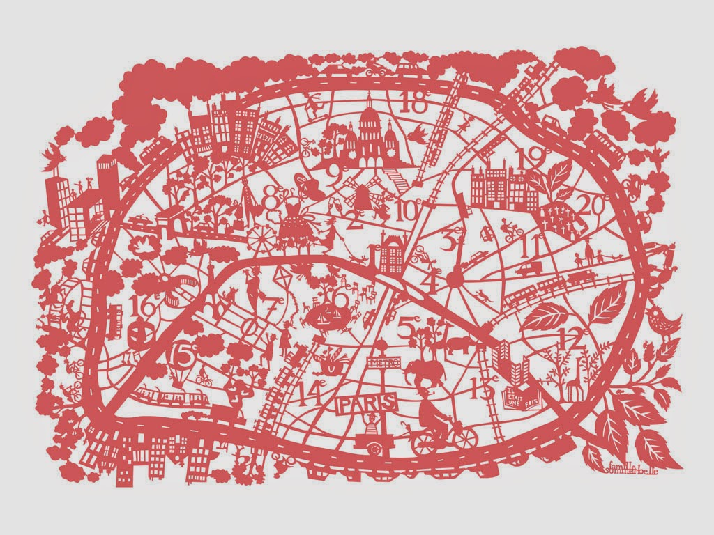 Jetlag and Lipstick Put A Pin In It 10 Best Map Illustrations – Simple Paris Map