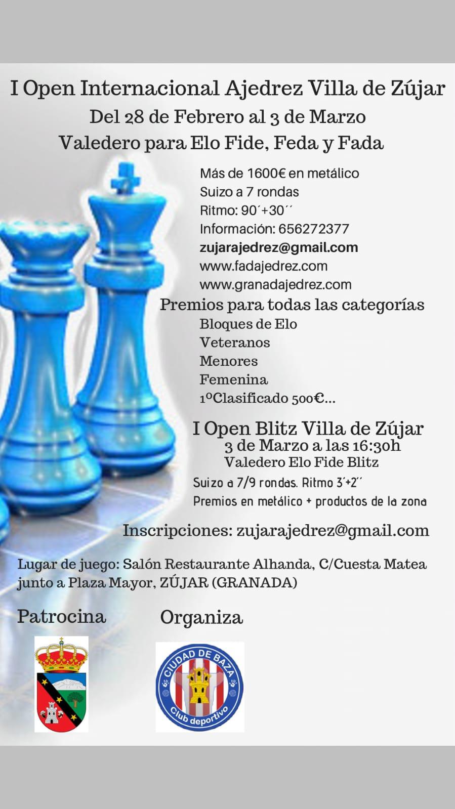 I Open Internacional Villa de Zujar