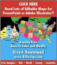 Editable Maps for Presentations