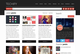 Techify Blogger Template