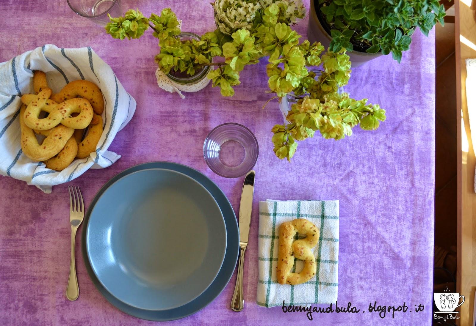 idee per apparecchiare la tavola a pasqua / easter table ideas