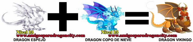 como hacer el dragon vikingo de dragon city formula 1