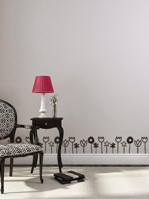 Cenefas de vinilo para paredes, marcos, armarios, neveras, cristales, etc.