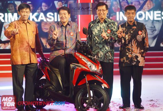Honda Vario Techno 125 Berfitur ISS Bukan Untuk Tambah Penjualan