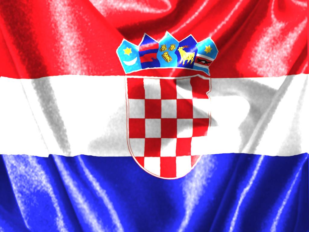 Download besplatne pozadine 1024x768: Hrvatska zastava