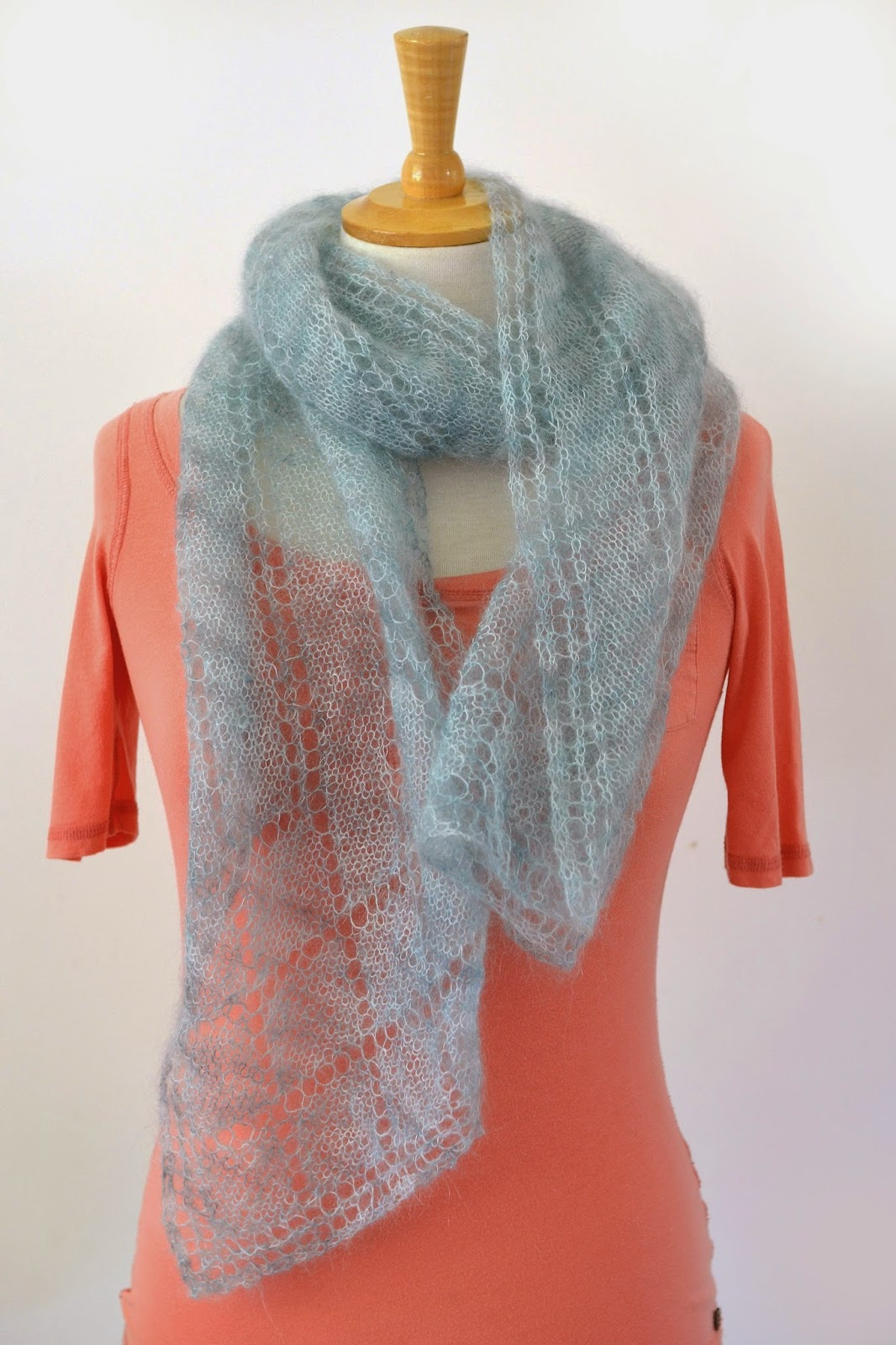 Rivelin scarf pattern by Katya Frankel