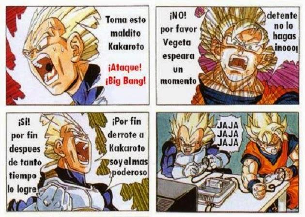 Por fin derrrotó a Goku
