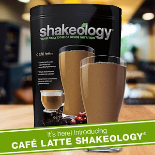 Cafe Latte Shakeology, www.HealthyFitFocused.com, Julie Little Fitness