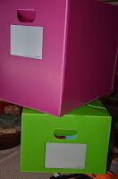 2 Packaway boxes