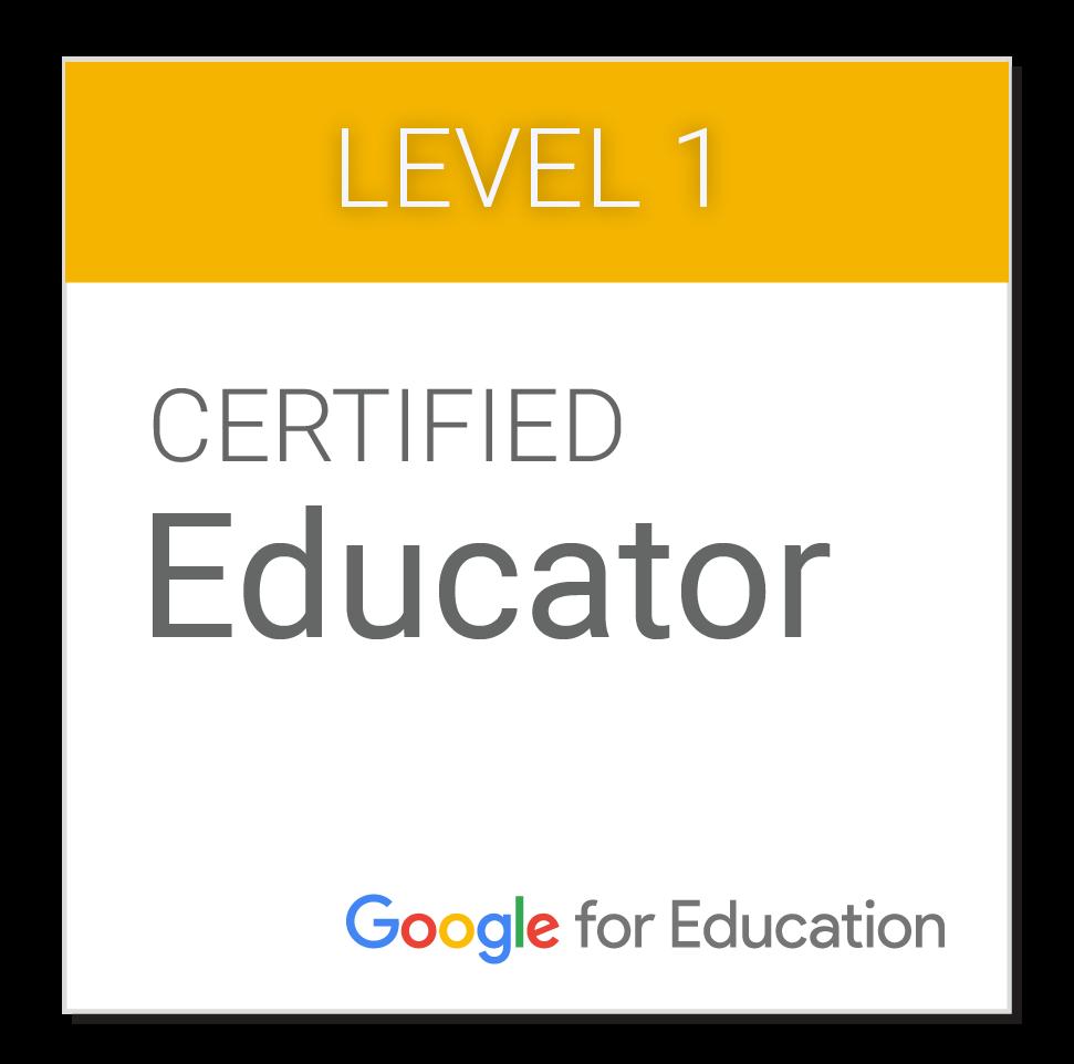 Certificação Google Educador Nível 1