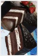 double coklat indulgunce kek