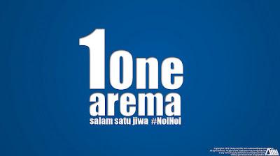 Wallpaper Salam Satu Jiwa Arema Malang Indonesia ISL Edisi 11 Februari 2013