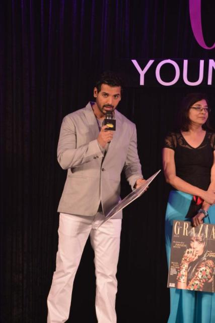 John Abraham at Grazia Young Fashion Awards!