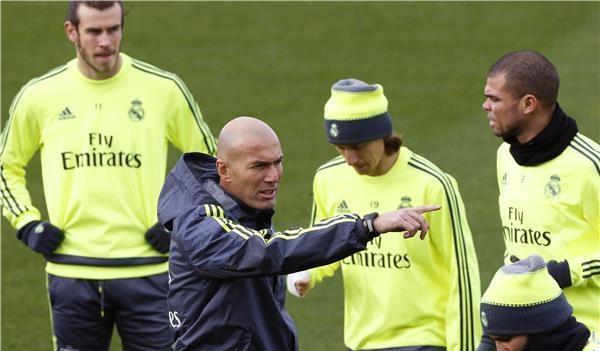 Zidane va appliquer des nouveaux et importants changement au niveau de son équipe contre le Deportivo