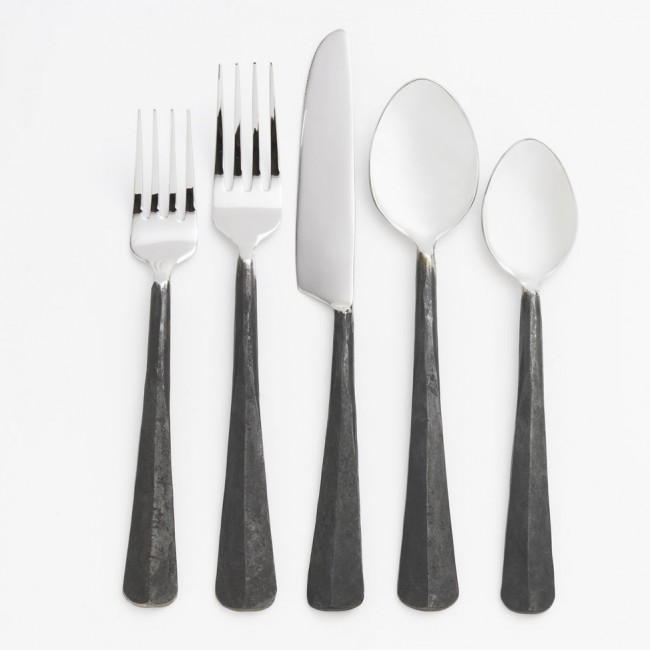 The paper nest co modern monday anniversary presents year 5 - Almoco flatware ...