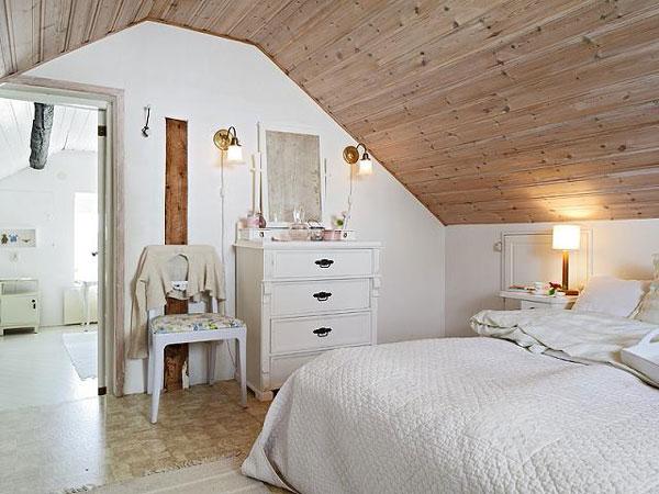 decoracao de interiores sotaos:Attic Bedroom