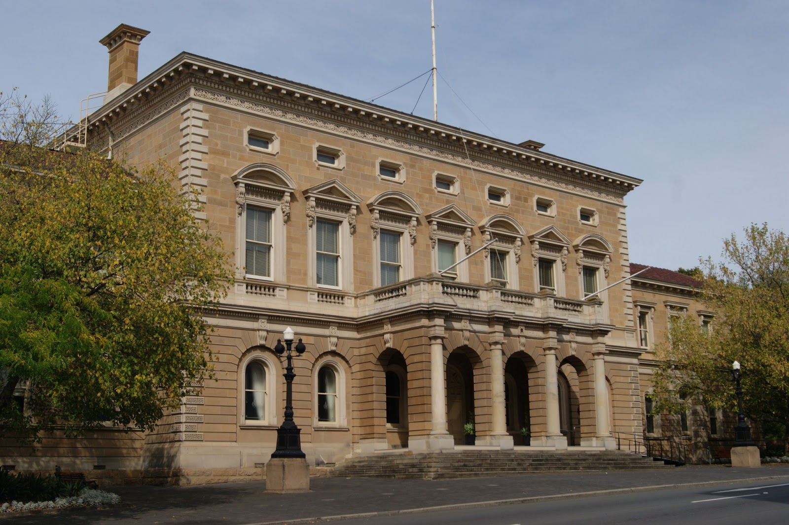 On The Convict Trail: Hobart Town Hall