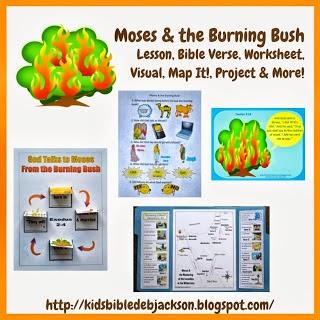 http://kidsbibledebjackson.blogspot.com/2013/09/moses-burning-bush.html