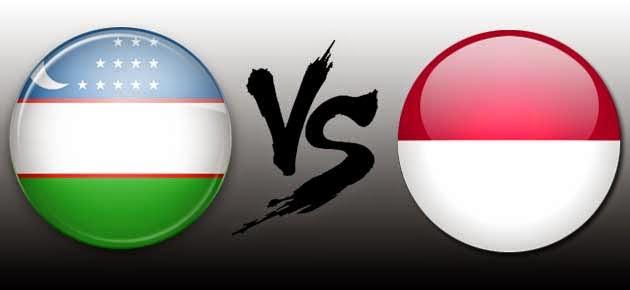 Timnas U19 Indonesia Vs Uzbekistan