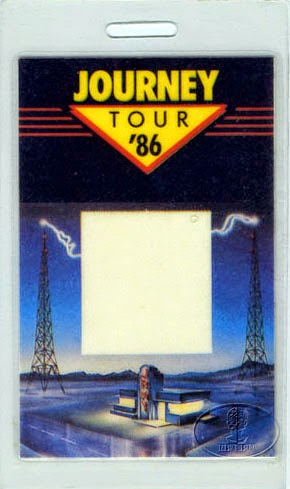 Journey 1986 Tour Pass