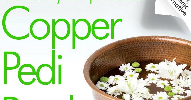 Pure Spa Direct Blog Copper Pedicure Bowls Attractive