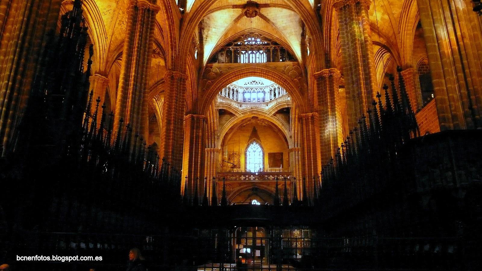 mi barcelona la catedral de barcelona ii interiores y