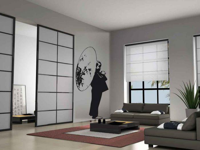 Ambiance japonisante dans la maison blog d coration maison for Salon japonais traditionnel