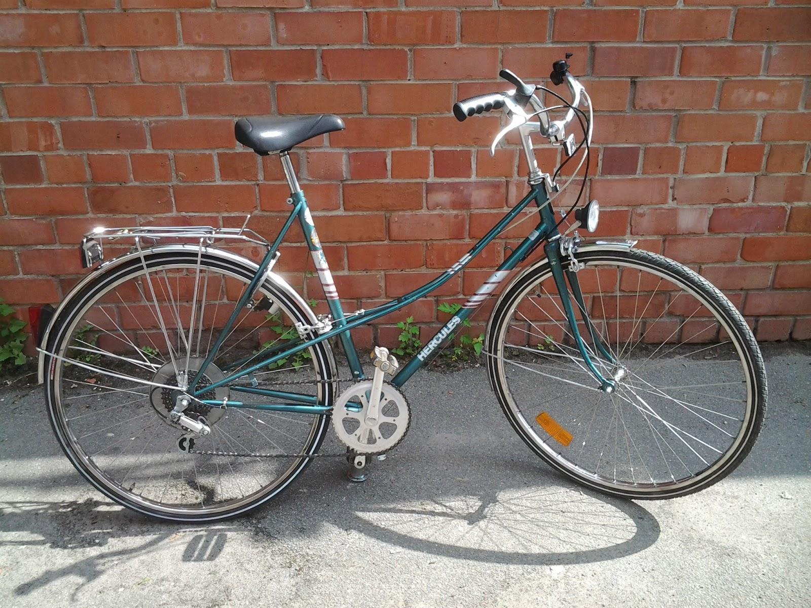hercules city bike jaunums 2013 velosip di