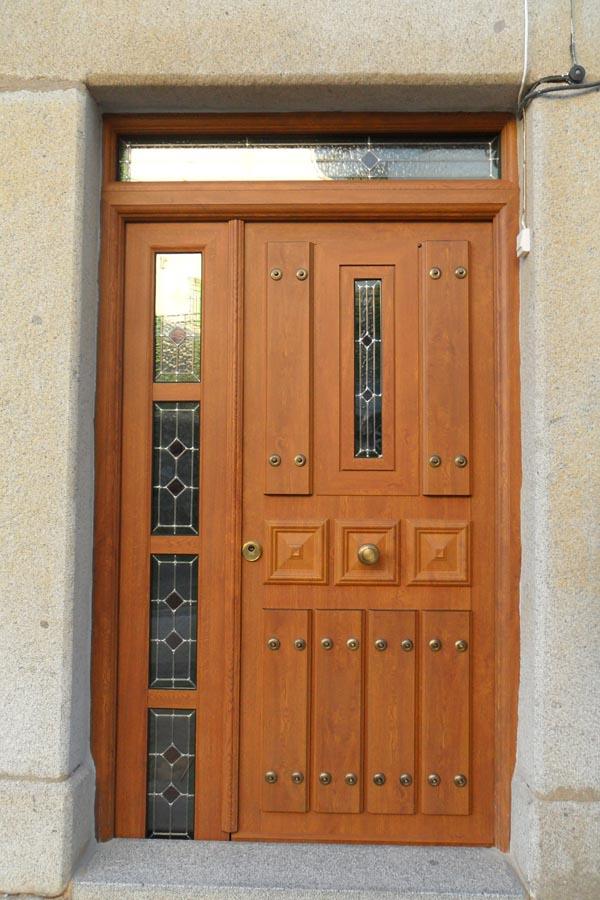 Puertas de aluminio para entrada de ba o - Puertas de aluminio para exterior fotos ...