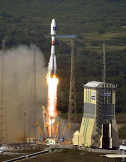 Soyuz Orbits Two Galileo Satellites