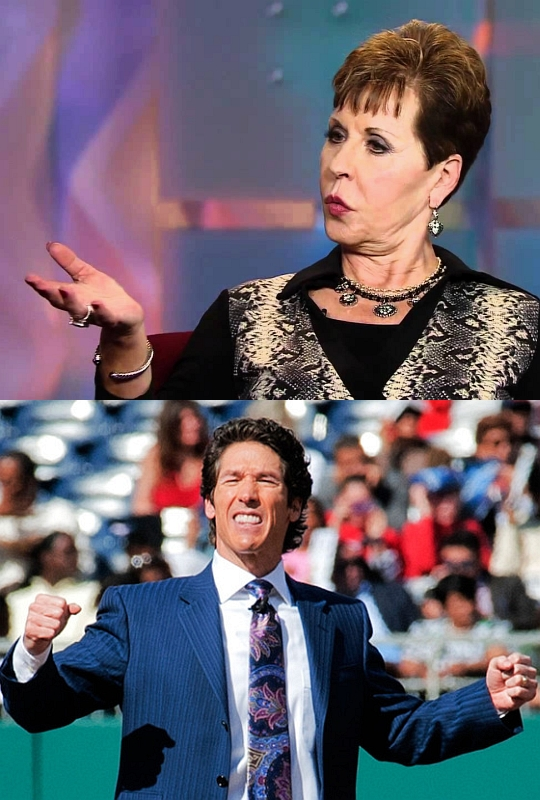 Meyer and Osteen, Heretics