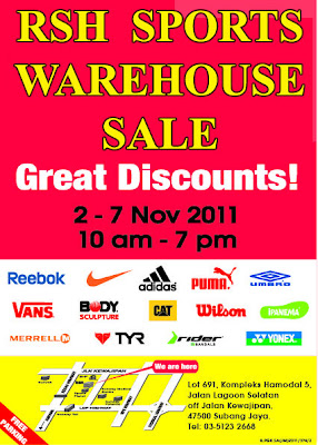 RSH Warehouse Sale