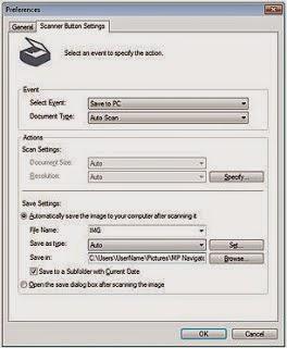 save scan file