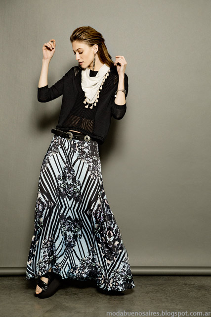 Looks Tucci prmavera verano 2015. Moda faldas 2015.