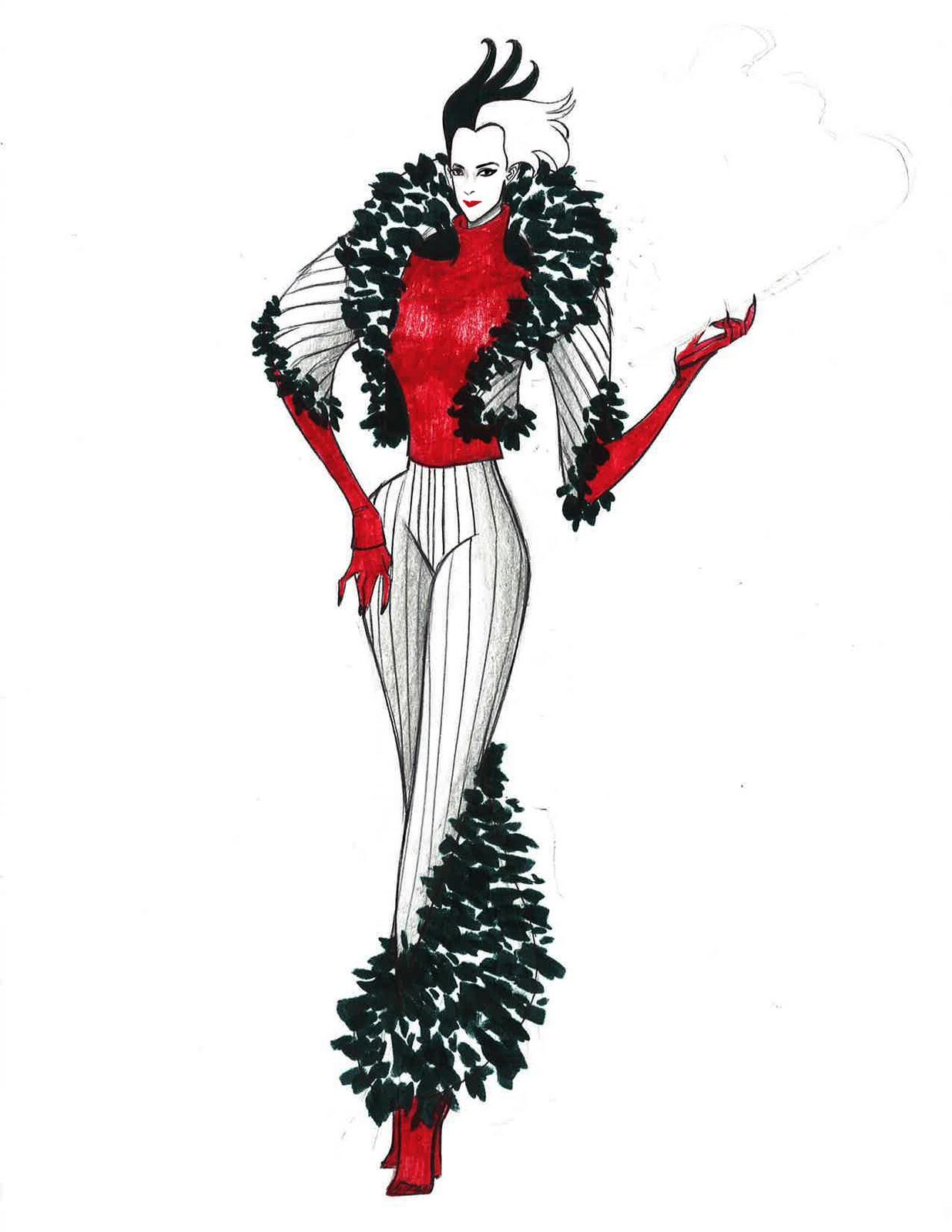 Cruella de vil fashion