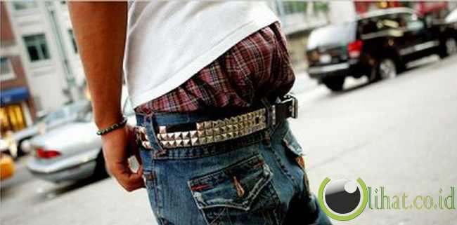 Dilarang pakai celana melorot di Thailand