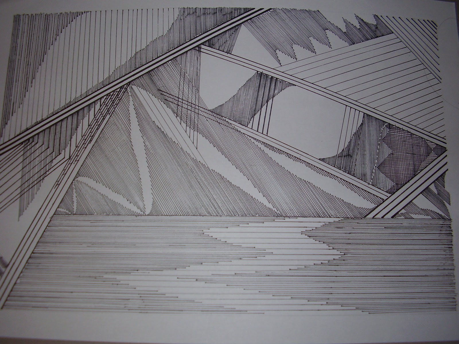 linea recta dibujo abstracto